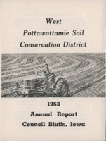 West Pottawattamie County Soil Conservation District Annual Report - 1963