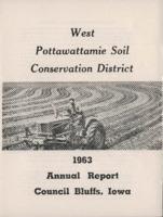 West Pottawattamie County Soil Conservation District Calendar & Annual Report - 1963