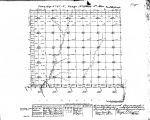 Iowa land survey map of t067n, r039w