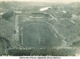 Iowa-Minnesota homecoming football game, The University of Iowa, October 27, 1928