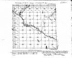 Iowa land survey map of t086n, r034w