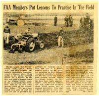 FAA members put lessons to practice in the field.