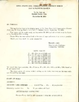 Field Day exhibitor form, 1960