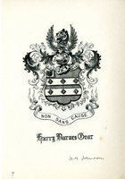 Harry Barnes Gear Bookplate