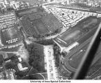 Iowa Stadium (now Kinnick Stadium) homecoming game, The University of Iowa, 1960