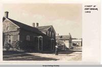 Street scene at East Amana, Iowa, East Amana, Iowa, 1900s