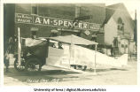 Mock airplane, Mecca Day, The University of Iowa, 1919