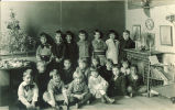 Group of children in classroom, The University of Iowa, 1920s