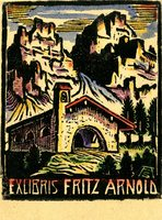 Fritz Arnold Bookplate