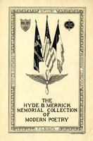 The Hyde. B. Merrick Memorial Collection of Modern Poetry Bookplate.