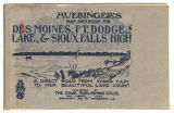 Huebinger's map and guide for Des Moines, Ft. Dodge, Spirit Lake and Sioux Falls Highway: combining the Des Moines, Ft. Dodge and Spirit Lake Highway and the Sioux Falls, Spirit Lake official highway