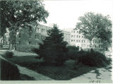 Northeast sides of Hillcrest Hall, the University of Iowa, September 1, 1938