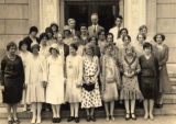 Library staff, 1925