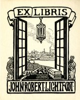 John Robert Lightfoot Bookplate