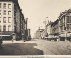 Walnut Street, Looking West from Fourth Ave.