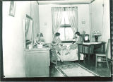 Dorm room in Currier Hall, The University of Iowa, May 1927