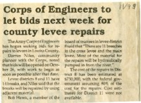 Levee Repair For Louisa County