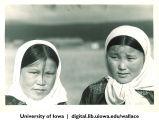 Buryat women, Siberia, 1944
