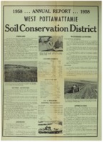 West Pottawattamie County Soil Conservation District Annual Report - 1958
