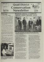 Quad-District Conservation Newsletter; Vol. 1, no. 1 (1996, Spring).