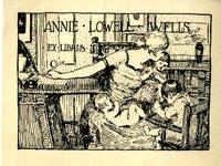 Annie Lowell Wells Bookplate