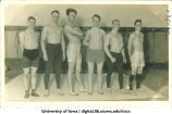 Wrestling team, The University of Iowa, 1920s