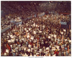 View from above at the Republican National Convention, Kansas City, Mo., August 1976