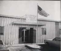 Front of the Kossuth County SWCD office in Algona, Iowa