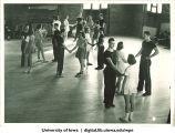 Dance class, The University of Iowa, 1940s