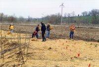1999 - Work Day at Flint Creek on Richard Osborn's property
