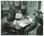 History class discussion, The University of Iowa, 1960s