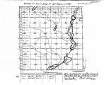 Iowa land survey map of t092n, r040w