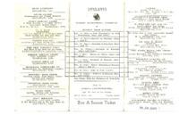 Basketball Schedule, 1932-1933