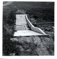 Water control structure on Oscar Anderson's land