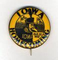 Homecoming badge, October 22, 1932