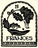 Frances Bookplate