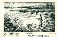 Oliver Clement Sheean Bookplate