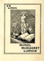 Muriel Margaret Lomax Bookplate