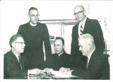 School of Religion faculty, The University of Iowa, 1960s