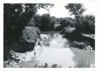 Silt deposit from S. Fork of Maquoketa River, 1964