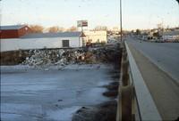 Flood damage - 1986.