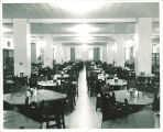 Dining area in Iowa Memorial Union, the University of Iowa, 1950s?