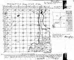 Iowa land survey map of t077n, r004w