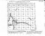 Iowa land survey map of t097n, r034w