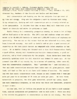 Remarks By Carroll J. Hobson