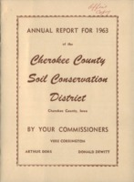 Cherokee County Soil Conservation District Annual Report - 1963