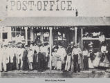 Post Office during the Civil War, 1861-1864; Oskaloosa, IA; Mahaska County