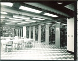 Main Library bookstacks, the University of Iowa, June 13, 1952