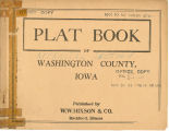 Plat book of Washington County, Iowa