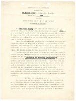 1946 - Memorandums of Understanding between the Des Moines County Soil Conservation District and the USDA Soil Conservation Service
